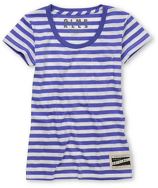 Glamour Kills Ahoy Stripe Scoop Neck T-Shirt