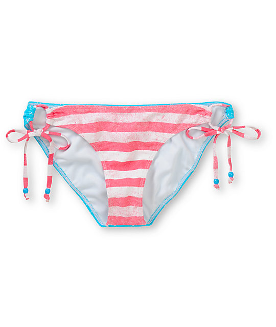 Glamour Kills American Flag Tunnel Tie Bikini Bottom
