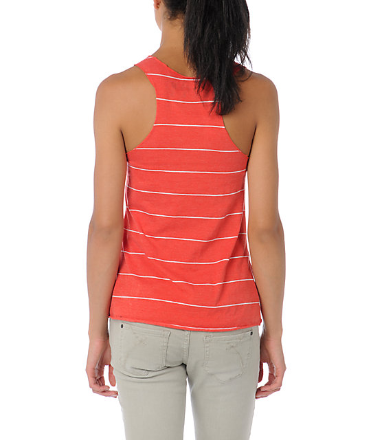 Glamour Kills Anchors Red Stripe Tank Top