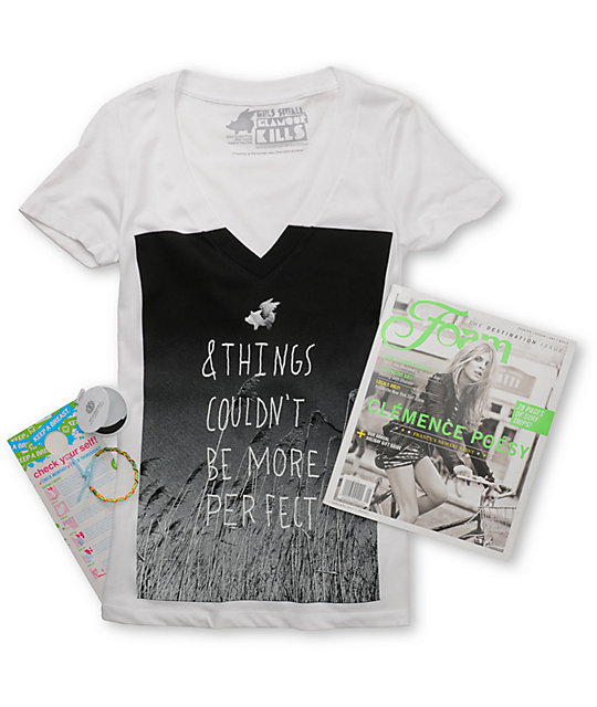 Glamour Kills Be More Perfect White Holiday Pack