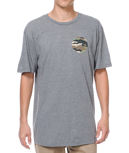 Glamour Kills Camo Anchor Grey T-Shirt