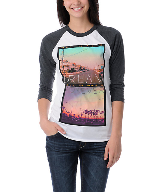 Glamour Kills Dream Forever Baseball Tee