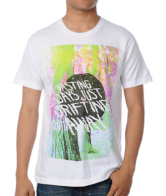 Glamour Kills Drift Away White T-Shirt