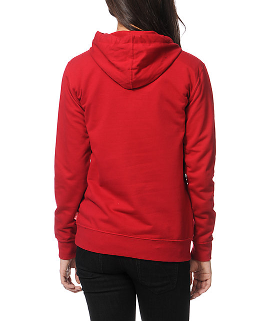 Glamour Kills Feel Good Lost Red Pullover Hoodie