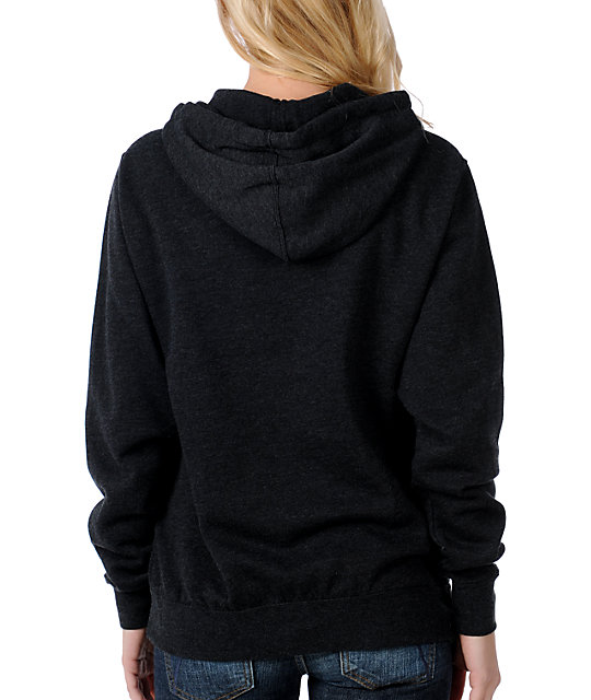 Glamour Kills GKNY Anchor Charcoal Pullover Hoodie
