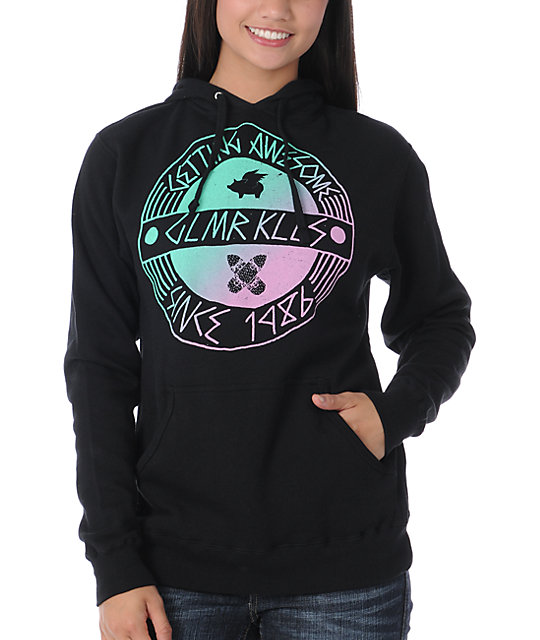 Glamour Kills Getting Awesome Black Pullover Hoodie
