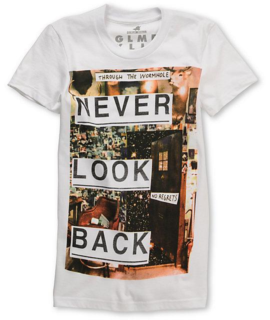 Glamour Kills Hold The Door White T-Shirt