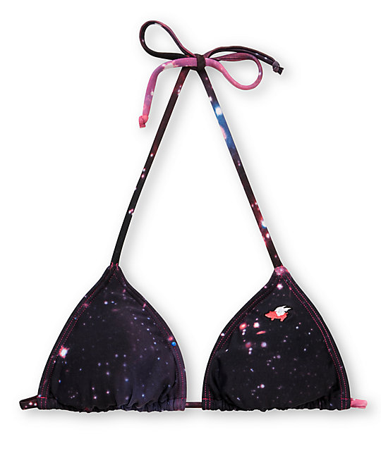 Glamour Kills Intergalactic Triangle Bikini Top