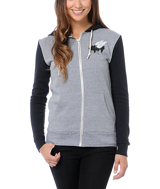 Glamour Kills Let It Take Hold Zip Up Hoodie