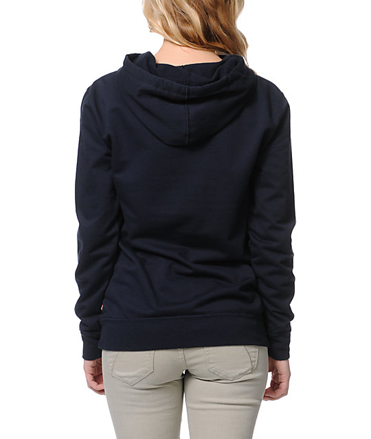 Glamour Kills Love Without Limits Navy Pullover Hoodie