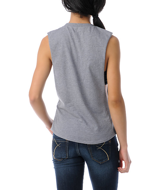 Glamour Kills Max Guac & Roll Cut Off Tank Top