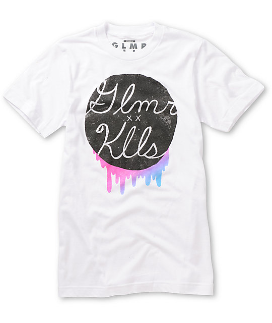Glamour Kills Run For Color White T-Shirt