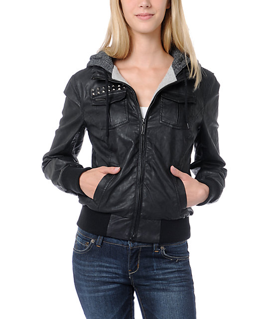Glamour Kills Social Club Black Bomber Jacket