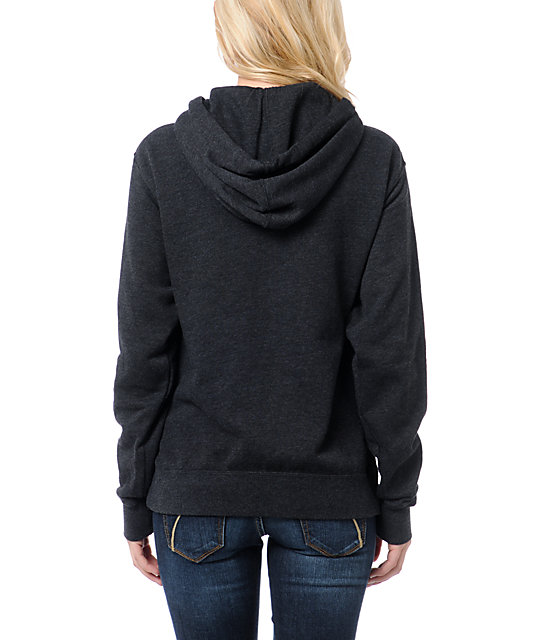 Glamour Kills Space Skull Charcoal Pullover Hoodie