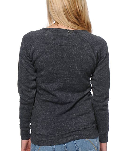 Glamour Kills Spirit Animal Charcoal Crew Neck Sweatshirt