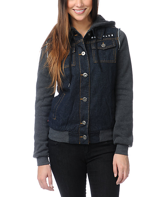Glamour Kills The Wiz Kid Hooded Denim Vest Jacket