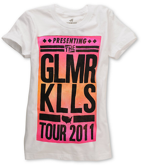 Glamour Kills Tour White T-Shirt