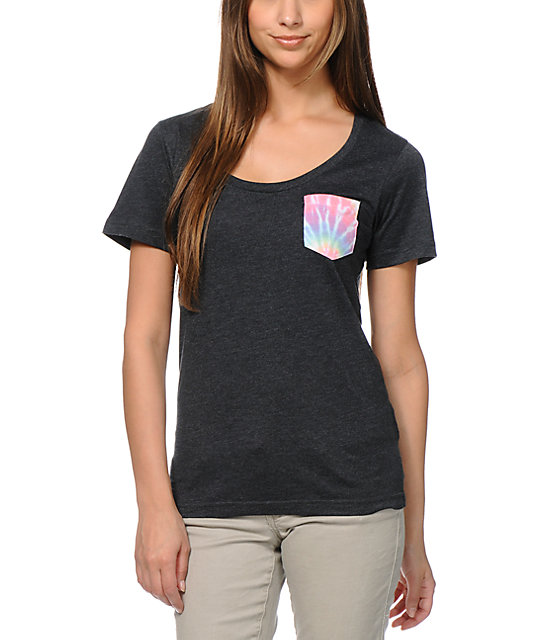 Glamour Kills Woodstock Tie Dye Pocket T-Shirt