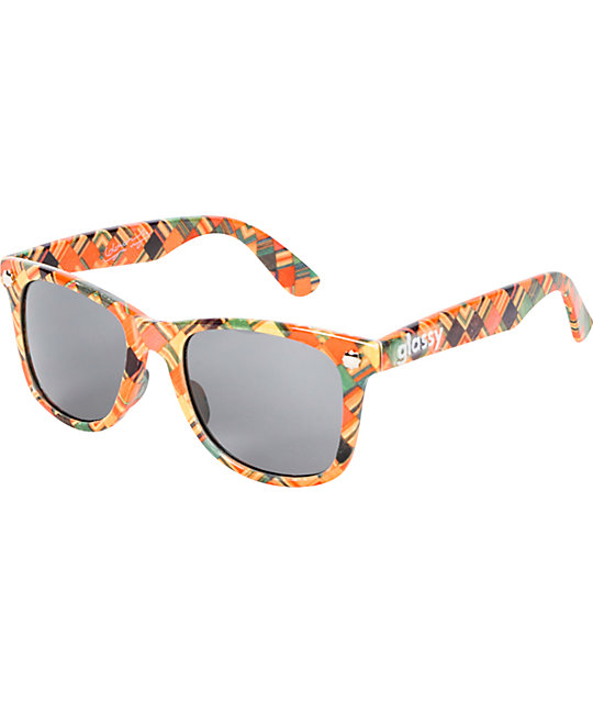 Glassy Haroshi Print LTD Sunglasses