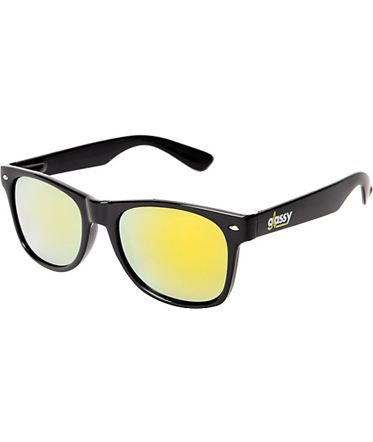 Glassy Leonard Cancer Hater Black Sunglasses