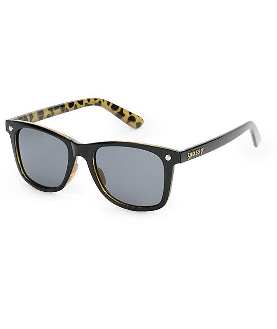 Glassy Mikemo Black Tortoise Polarized Sunglasses