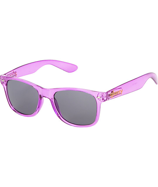 Glassy Nu Clear Purple Sunglasses