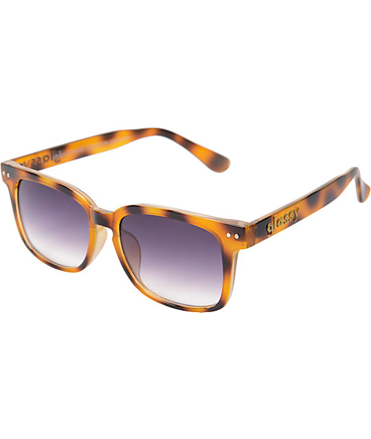 Glassy Stefan Janoski Brown Tortoise Sunglasses