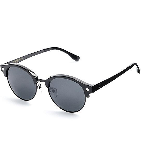 Glassy Sunhaters Paul Black & Black Sunglasses