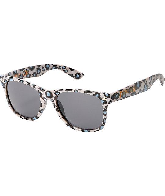 Glassy x Fourstar Leonard Leopard Print Sunglasses