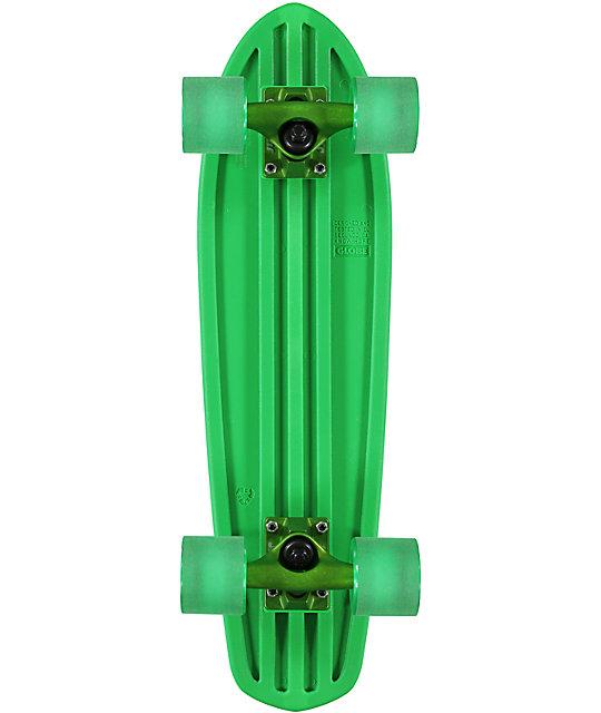 "Globe Bantam 24""  Green Cruiser Complete Skateboard"