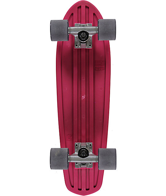"Globe Bantam 24""  Pink Cruiser Complete Skateboard"