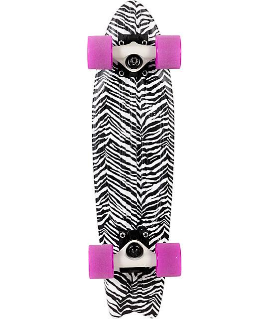 """Globe Bantam ST Zebra 24""""  Complete Cruiser Skateboard"""
