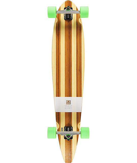 "Globe Big Pinner 44""  Bamboo Complete Longboard"