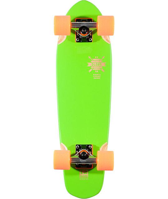 "Globe Blazing Green Blazer 26""  Complete Cruiser Skateboard"