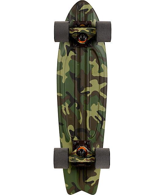 "Globe Camo Bantam 24""  Complete Cruiser Skateboard"