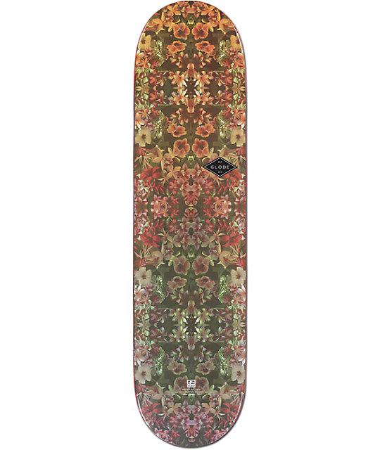 """Globe Dead Flowers 7.9""""  Skateboard Deck"""