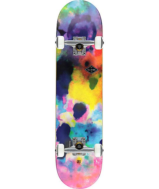 """Globe Full On Color Bomb 7.75"""" Skateboard Complete"""
