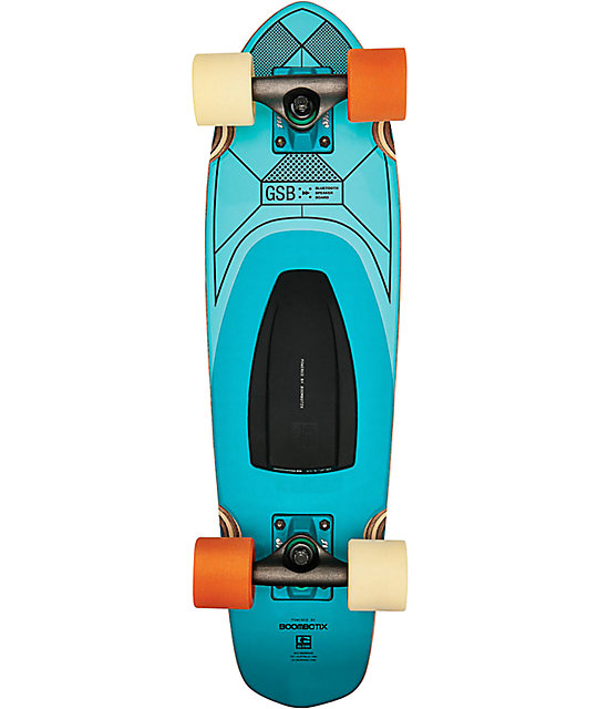 "Globe GSB Blazer 26""  Bluetooth Speaker Cruiser Complete Skateboard"