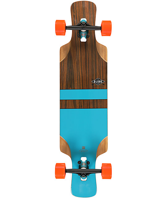 "Globe Geminon FLX 41""  Drop Through Longboard Complete"