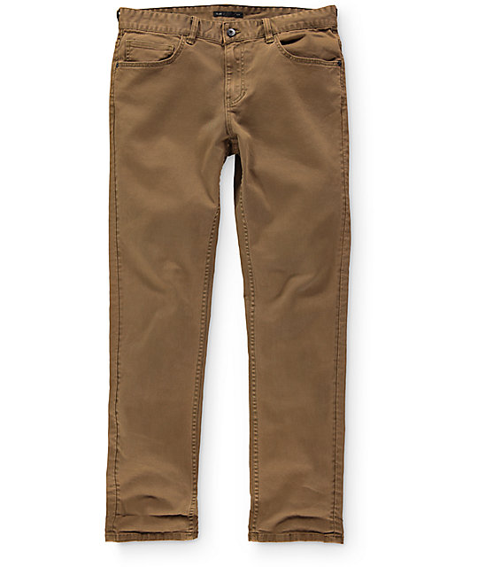 Globe Goodstock Tobacco Slim Fit Jeans