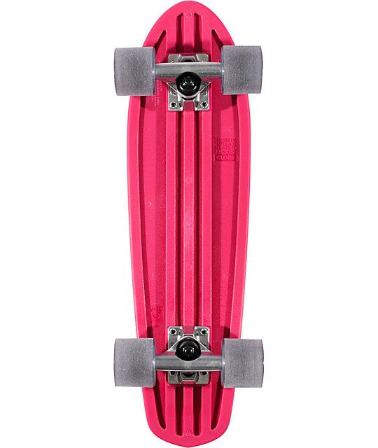 "Globe Magenta Bantam 24""  Complete Cruiser Skateboard"