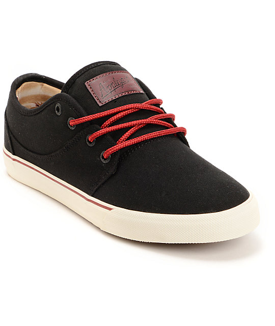 Globe Mahalo Black Hemp Skate Shoes