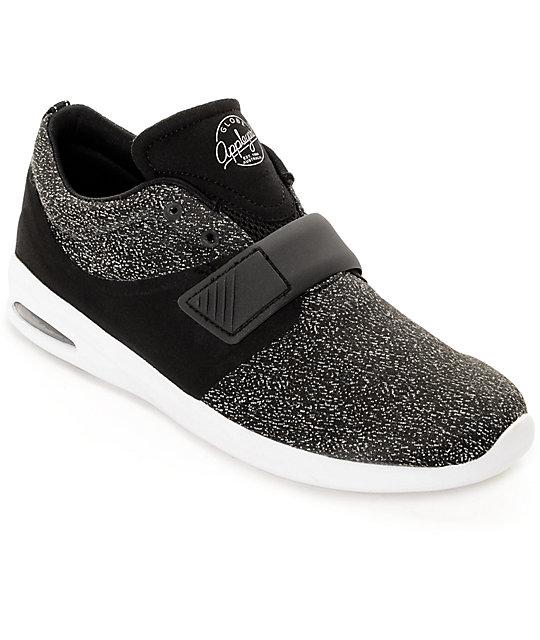 Globe Mahalo Lyte Black & White Skate Shoes