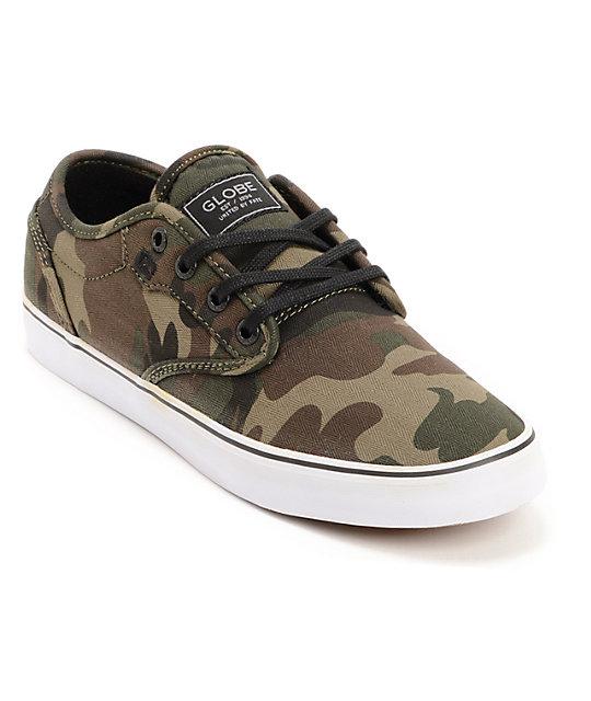 Globe Motley Camo Print Skate Shoes