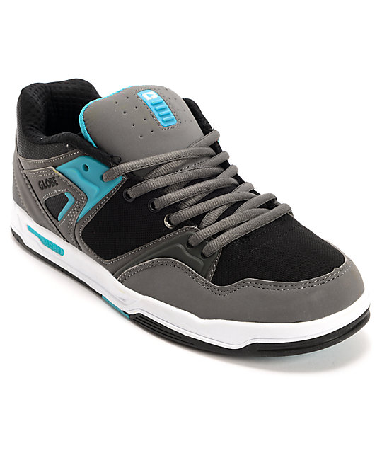 Globe Pursuit Charcoal, Night & Teal Skate Shoes