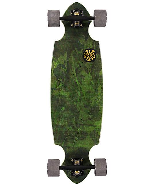 "Globe Queensbury Camo 34""  Cruiser Skateboard Complete"