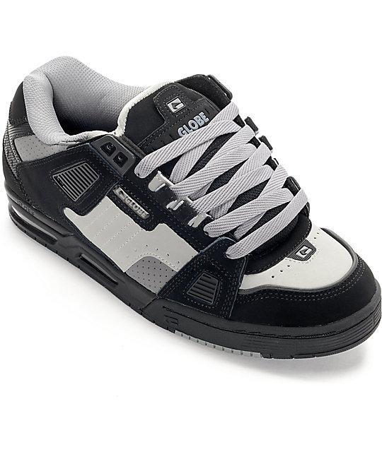 Globe Sabre Black & Grey Shoes