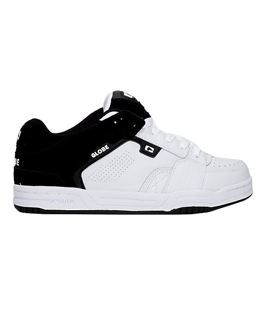 Globe Scribe Black & White Shoes