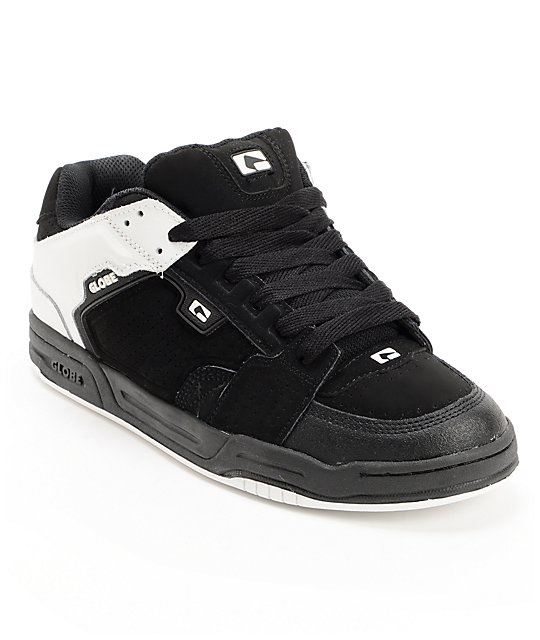 Globe Scribe White & Black Skate Shoes