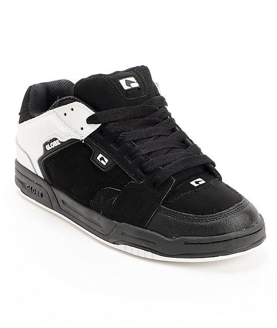 Globe Scribe White & Black Skate Shoes